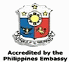 Accredited by Philippines Embassy
